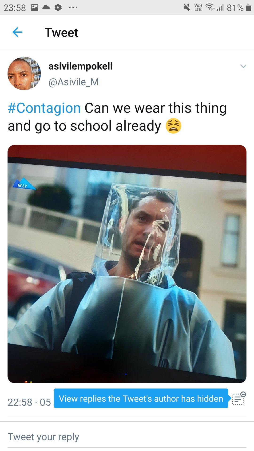 Twitter Goes Wild After Watching Contagion Movie | Top 30 Comments
